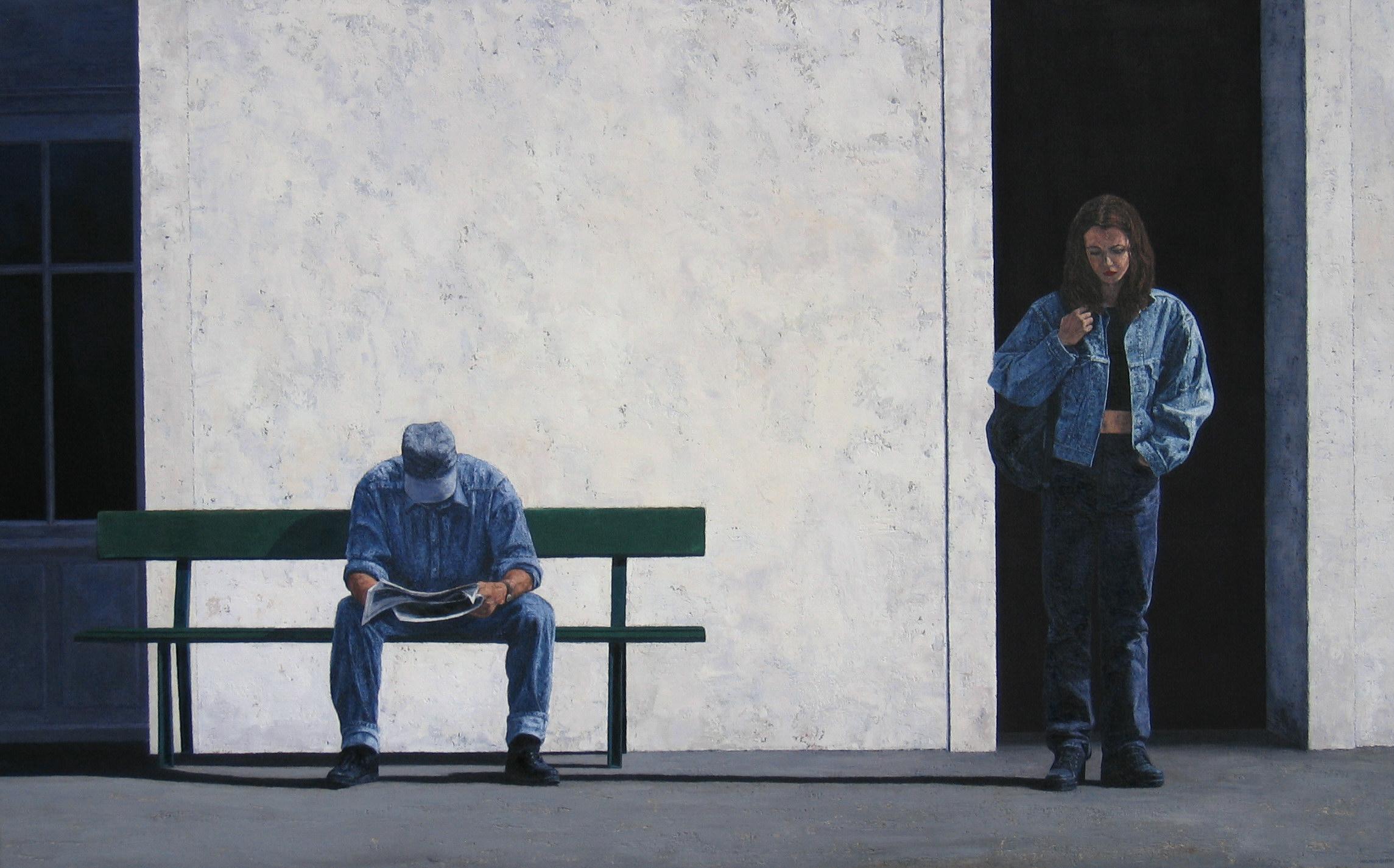 L'ATTENTE, 2006, 114x182