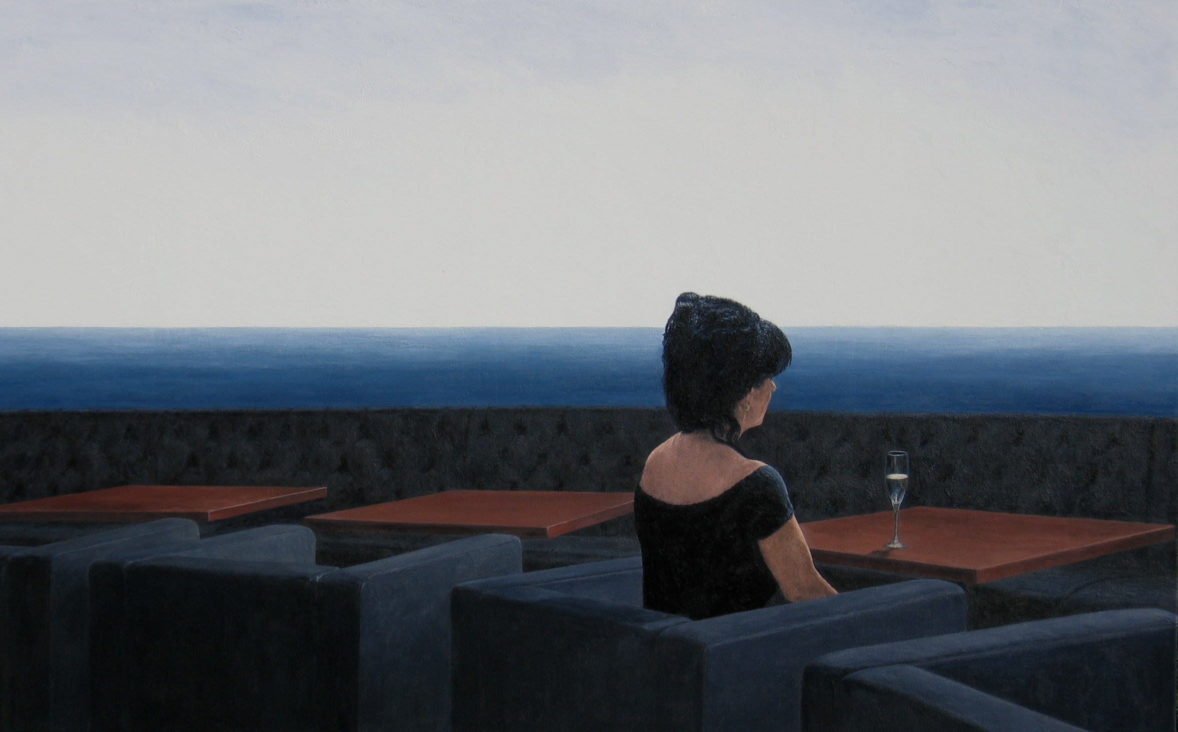 LA TERRASSE, 2007, 114x182