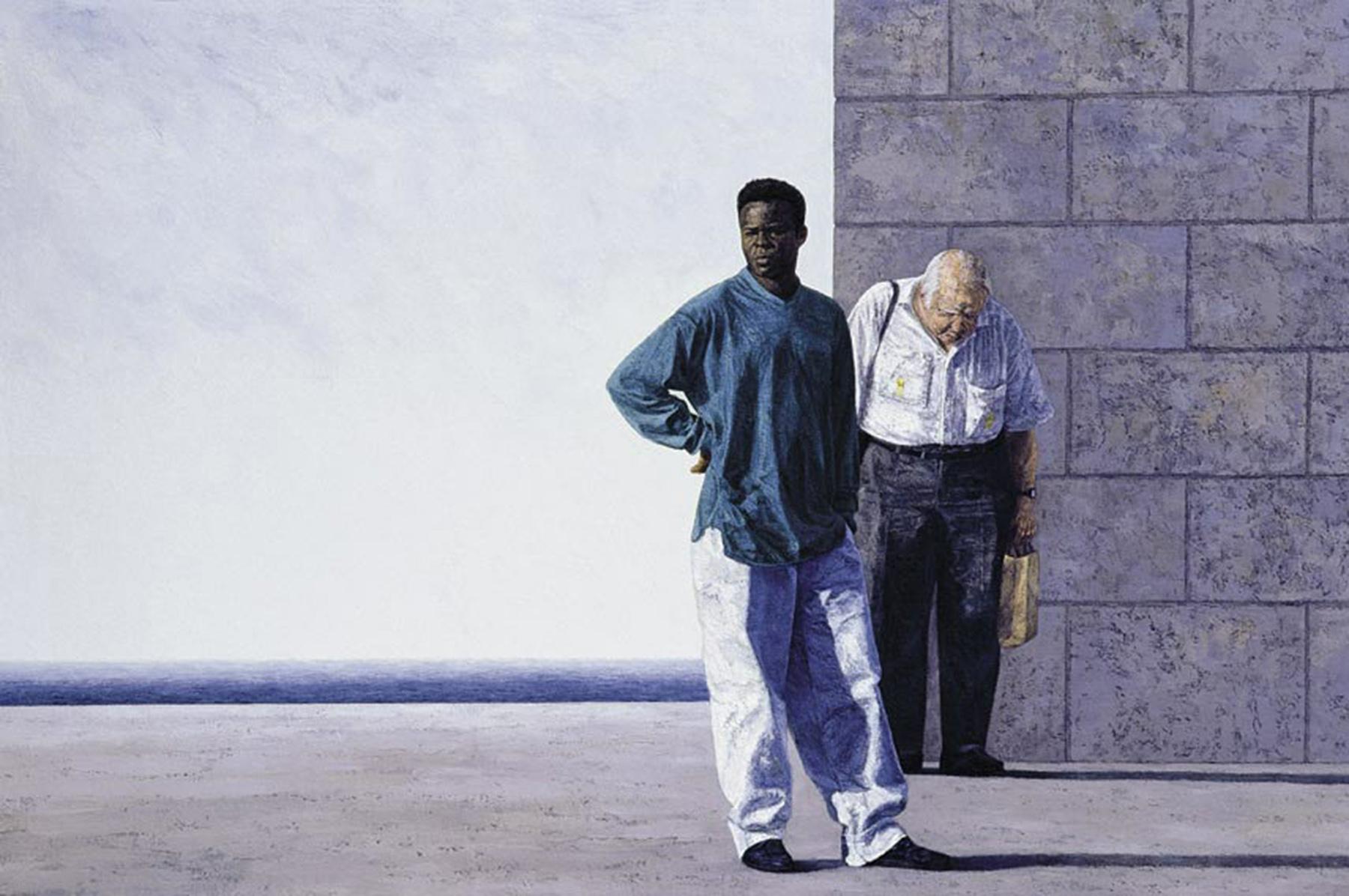 LE MUR, 2004, 132x200