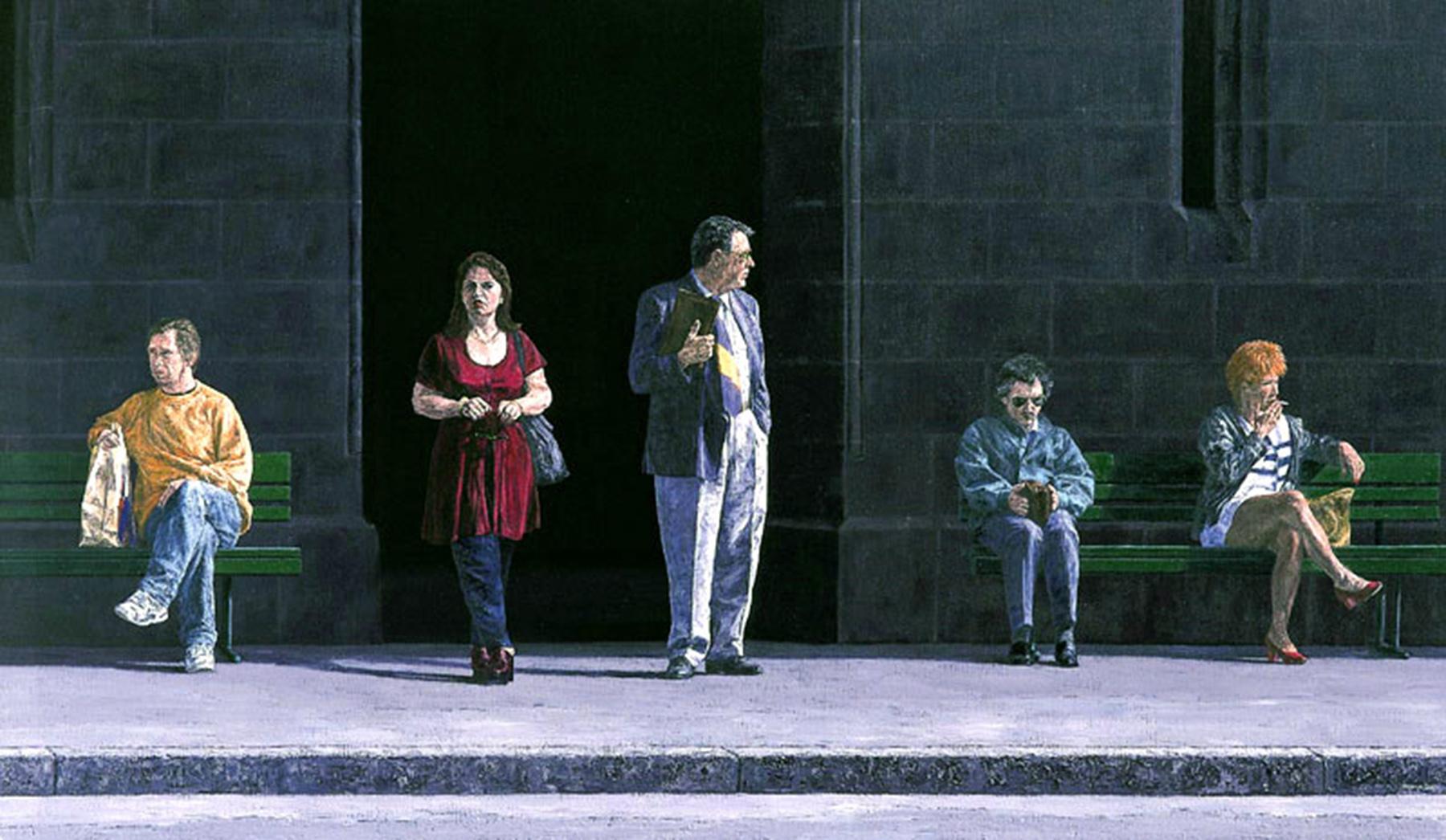 LAUSANNE, PLACE ST-FRANCOIS, 1998, 100x172