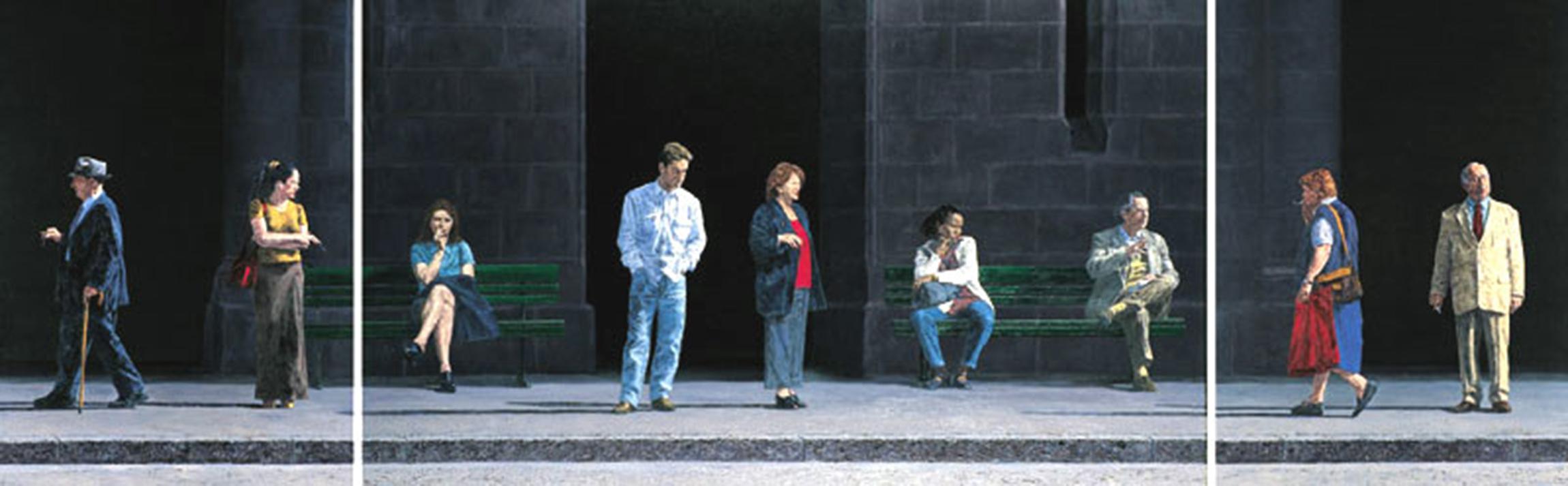 LAUSANNE, PLACE ST-FRANCOIS, 1999, 100x312