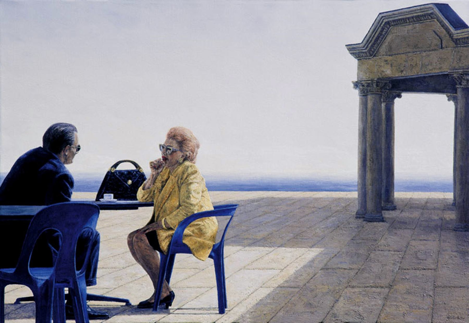 RENCONTRE, 2000, 90x130